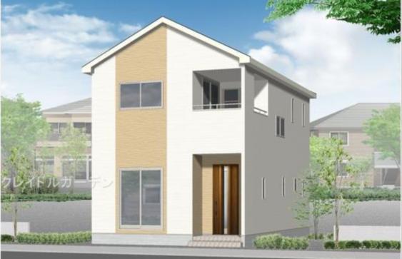 【西区坂井東1  (1号棟) 】2SLDK  新築一戸建売家